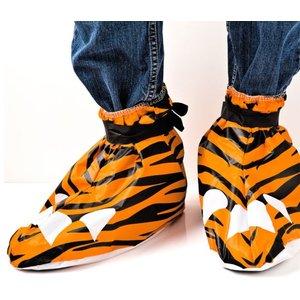 Festival Feet - Plastikschuhe Tiger