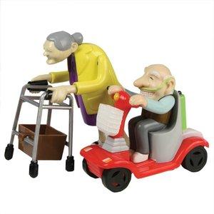 Aufziehbare Oma & Opa