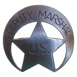 Stella di sceriffo- Deputy Marshal