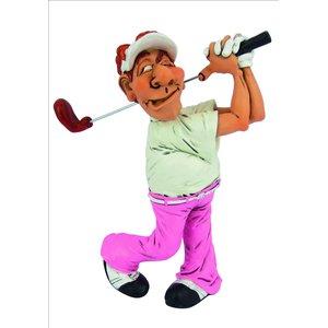 Funny Sports - Giocatore di Golf