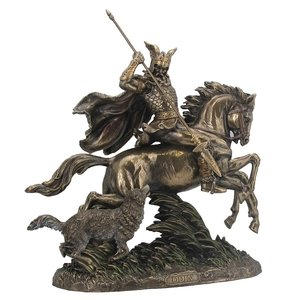 Odin und Sleipnir