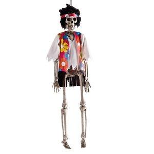 Squelette-Hippie