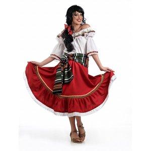 Poncho Messicano Messico sambrero abito messicani abito mexikanerin Cowboy