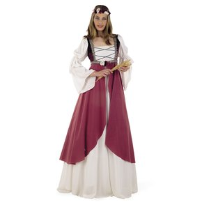 Mittelalterliche Magd Clarissa
