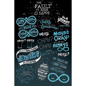 The Fault In Our Stars: Typographic