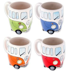 VW Camper: Bulli 4er Set