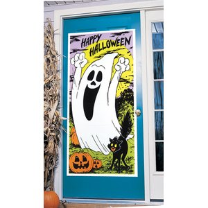 Porta - Happy Halloween Fantasma