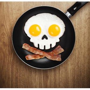 Stampo per uova teschio