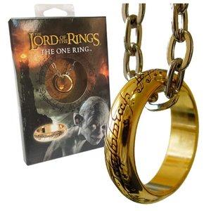 Herr der Ringe: Der Eine Ring (vergoldet)