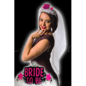 Polterabend: Bride To Be Tiara