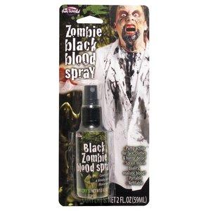 Schwarzes Zombie Kunstblut - Spray