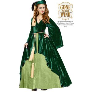 Autant en emporte le vent: Scarlett O'Hara - rideau de velours