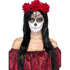 Jour des morts Roses rouges - Dia De Los Muertos