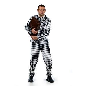 Häftling - Sträfling Anzug