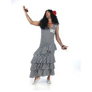 Flamenco Häftling Kleid