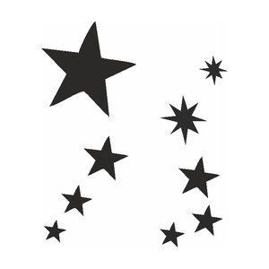 Selbstklebendes Set - Sterne