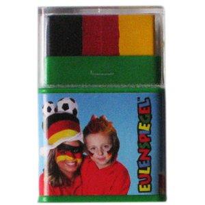 Fan-Stick Jumbo (nero/rosso/giallo) - Germania