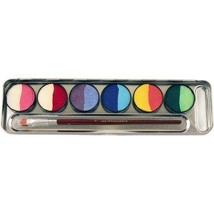 Split Cakes: 6=12 Farben Metall-Palette