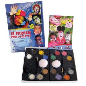 12 Farben-Profi-Schmink-Palette