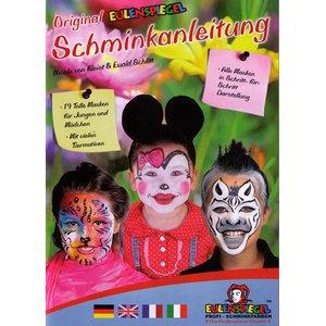 Schminkanleitung mit 19 Masken