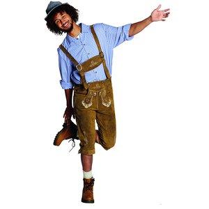 Oktoberfest - Pantalon En Cuir Bavarois