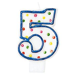 chiffre 5 - Fête d'anniversaire
