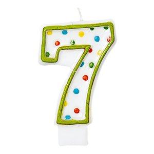 Zahl 7 - Geburtstagsparty
