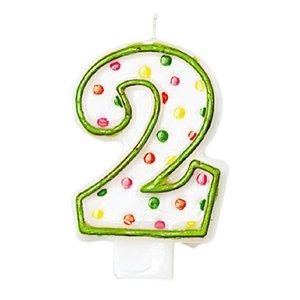 Zahl 2 - Geburtstagsparty