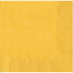 gelb - 20er Set (25 x 25 cm)