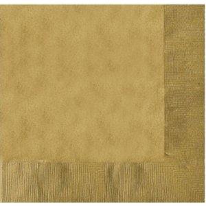 gold - 20er Set (33 x 33 cm)