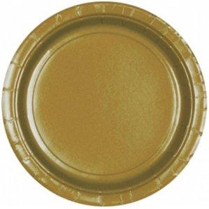 Geburtstagsparty / Silvester - 8er Set (Gold)