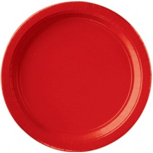 Anniversaire / Garden-party - Set de 8 (rouge)