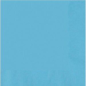 bleu clair - Set di 20 (33 x 33 cm)