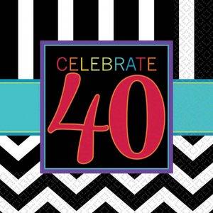 40. Geburtstag - 16er Set