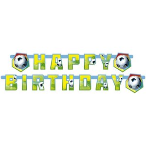 Geburtstagsparty: Fussball - Happy Birthday