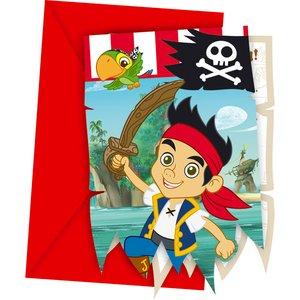 Jake e i pirati dell'Isola che non c'è (6 pezzi)