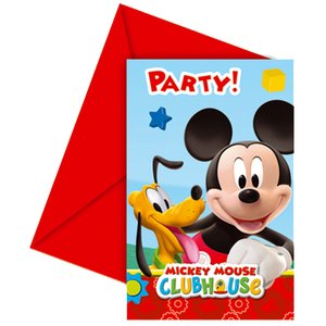 Mickey Mouse Club House (6 pezzi)