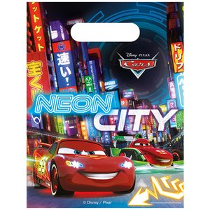Cars: Petit cadeau Neon City - Set de 6