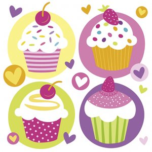 Party: Cupcake - 20er Set