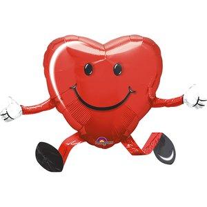 Herz laufend - Valentinstag / Romantik