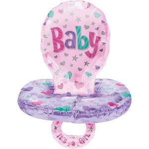 Babyparty: Schnuller - It's a girl