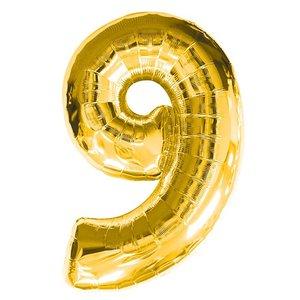 Geburtstagsparty Dekoration - Zahl 9