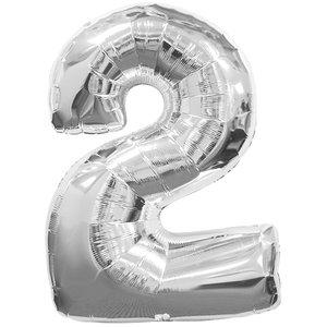 Geburtstagsparty Dekoration - Zahl 2