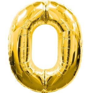 Geburtstagsparty Dekoration - Zahl 0