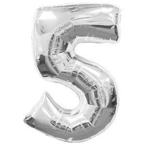 Geburtstagsparty Dekoration - Zahl 5