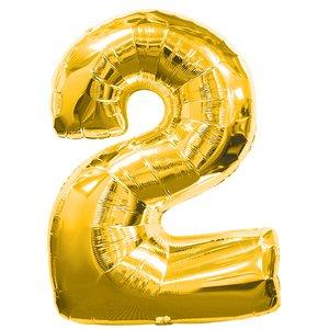 Fête d'anniversaire décoration - Chiffre 2