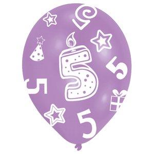 Festa dei bambini: Cifra 5 - Set di 6