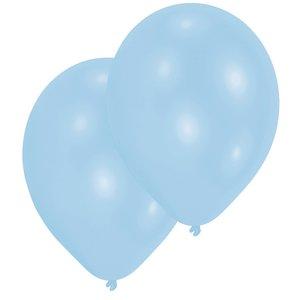 Festa di compleanno / Festa bebè - Set di 10 (blu chiaro)