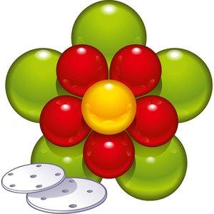 Festa: Fiore di palloncino - Set