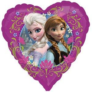 Frozen - La Reine des neiges: Elsa & Anna dans coeur